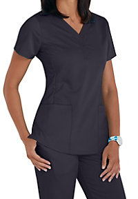 Healing Hands Purple Label Jane V-neck 2 Pocket Scrub Tops