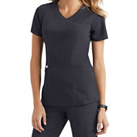 Healing Hands Purple Label Jordan Crossover Scrub Tops