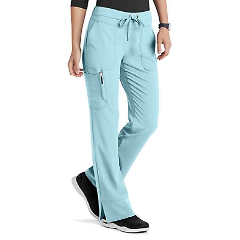 267fda7665f Grey's Anatomy Signature Callie 3 Pocket Straight Leg Cargo Scrub Pants |  Uniform City