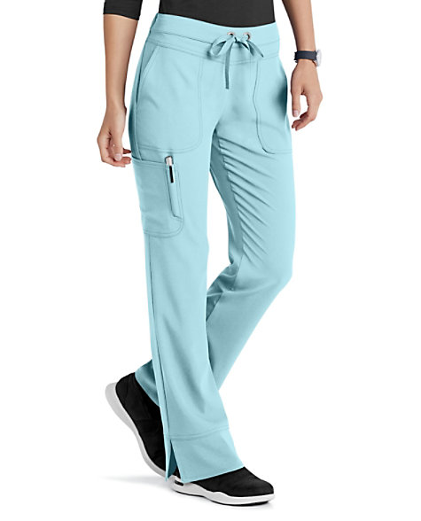 c0217fcb349 Grey's Anatomy Signature Callie 3 Pocket Straight Leg Cargo Scrub Pants