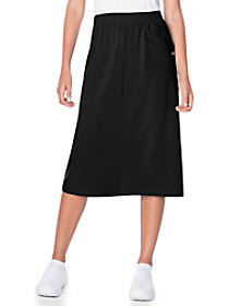 Midi Length Scrub Skirt