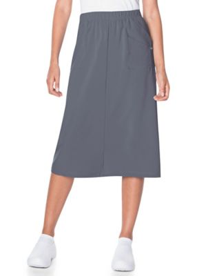 Landau Proflex Midi Length Scrub Skirt