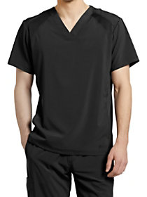 Men's Mesh V-Neck Top