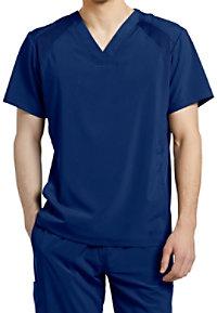f70c2bb150a See Details item #2266W · White Cross Fit Men's Mesh V-neck Scrub Tops