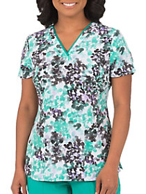 Amanda Water Color Print Top
