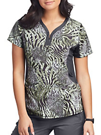 Jessi Hidden Safari Print Top