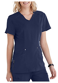 97e5ad27667 See Details item #2288SB · Beyond Scrubs Active Lexi 4 Pocket V-Neck Scrub  Top