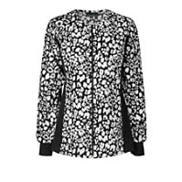 Cherokee Flexibles Etched Leopard Black Print Jackets