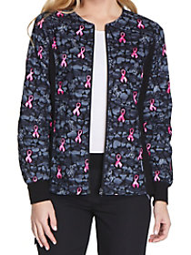 Guard My Heart Print Jacket