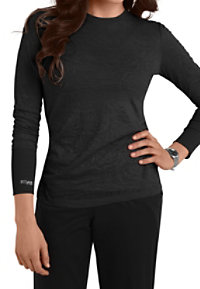 Grey's Anatomy Meredith Long Sleeve Burnout Scrub Tees