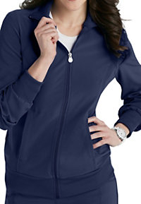 0f7a667302f See Details item #2391A · Infinity By Cherokee Zip Front Warm Up Scrub  Jackets With Certainty
