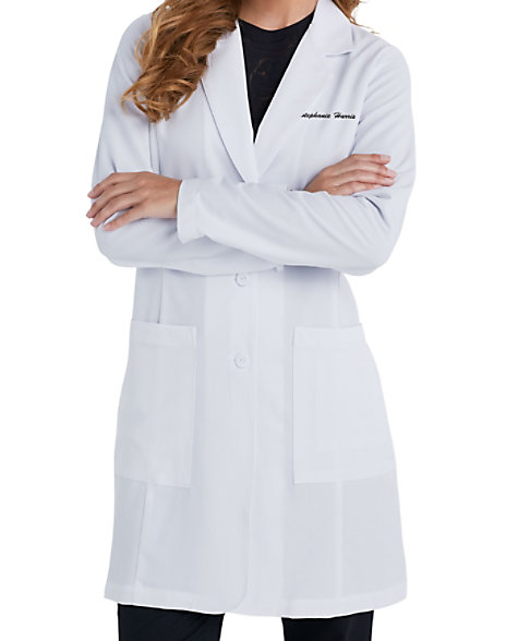Grey's Anatomy Signature Women's 35 Inch 2 Pocket Lab Coats ...