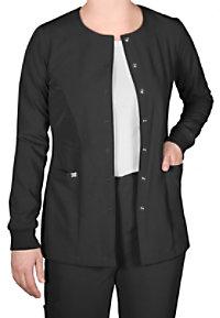 Grey's Anatomy Signature Round Neck Warm Up Scrub Jackets