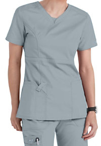 Cherokee Workwear Core Stretch V-neck Modern Fit Scrub Tops