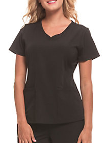 Monica 4 Pocket V-Neck Top