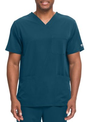 HH Works Matthew 4 Pocket Back Yoke Men's V-Neck Scrub Top