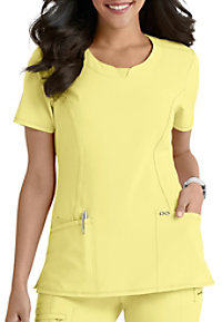 5742e246b76 See Details item #2624A · Infinity By Cherokee Round Neck Scrub Tops With  Certainty