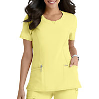 515ef7f7682 Infinity By Cherokee Round Neck Scrub Tops With Certainty