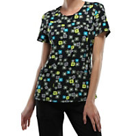 Infinity By Cherokee Chevron Print Tops With Certainty