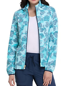 All Fur You Warm Up Print Jacket