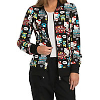Cherokee Tooniforms Hello Kitty Friends Print Jackets