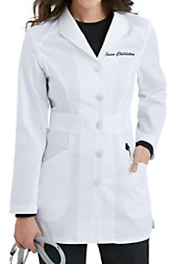 Landau Smart Stretch Signature 31 Inch  Mid-length Lab Coats