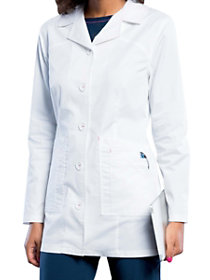 32 Inch Button Front  Lab Coat