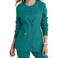 Landau For Women Prewashed Snap Front Jackets