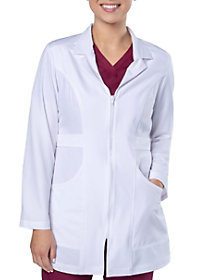 Belted Mid Length Lab Coat