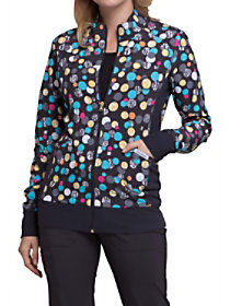 Polka Dot Game Print Jacket
