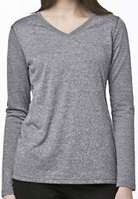 Carhartt Work Dry Women's V-neck Long Sleeve Tees
