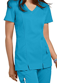 Barco NRG 2 Pocket Shaped V-neck Scrub Tops