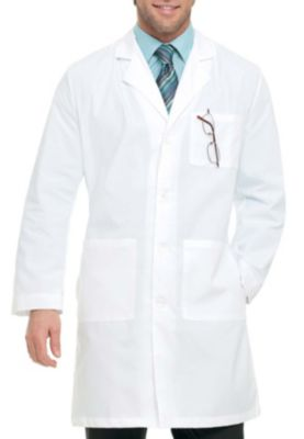 39.5 Inch Full Length 4 Button Lab Coat