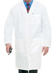 41.5 Inch Full Length Lab Coat