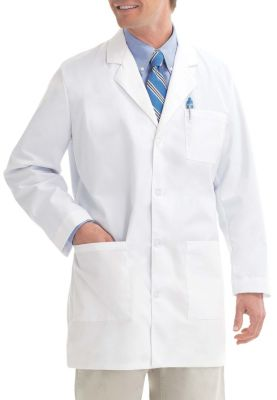 35 Inch 4 Button Lab Coat