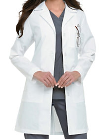 38 Inch Twill Antimicrobial Lab Coat