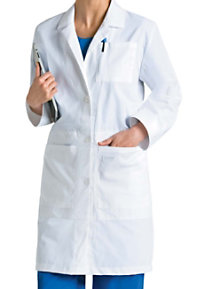 Landau Women's 36.75 Inch With Notebook Pocket Lab Coat