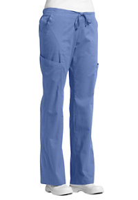 White Cross Allure 6 Pocket Cargo Scrub Pants