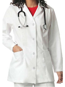 31.5 Inch 2 Pocket Lab Coat