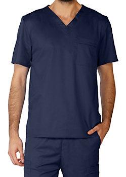 9bc254abd40 Cherokee Workwear Flex Unisex One Pocket Scrub Tops With Certainty ...