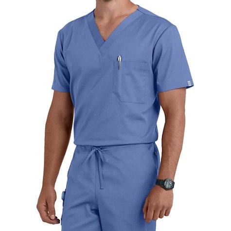f08d34b854a Cherokee Workwear Flex Unisex One Pocket Scrub Tops With Certainty |  Uniform City