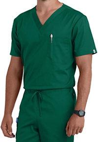 Cherokee Workwear Flex 1 Pocket Unisex Scrub Top With Certainty
