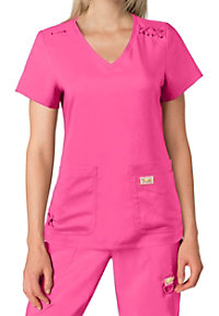 Koi Tech Andi V-neck Scrub Tops