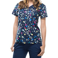 Cherokee Runway Flor-ever And A Daisy Print Tops
