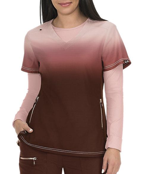 ebb0e1ec3c5 Koi Lite Limited Edition Reform Ombre V-neck Scrub Tops | Scrubs & Beyond