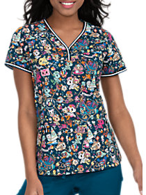 Tokidoki Sea Mates Print Top