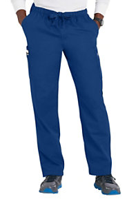Cherokee Workwear Men's Drawstring Cargo Scrub Pants