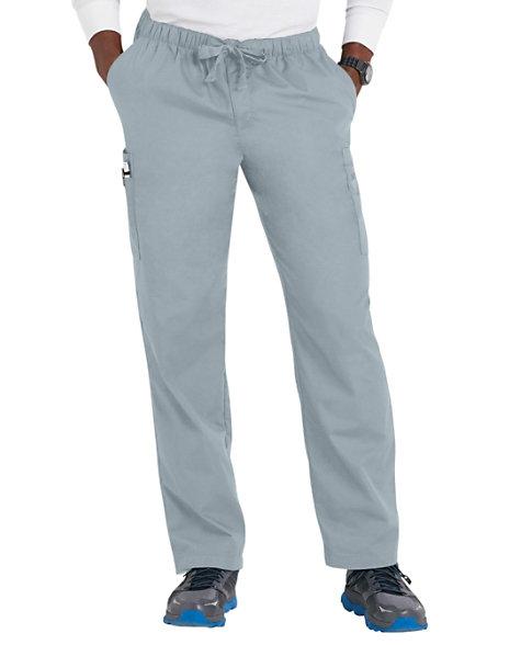 fb75a198715 Cherokee Workwear Men's Drawstring Cargo Scrub Pants | Scrubs & Beyond
