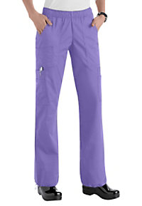 Cherokee Workwear Core Stretch Comfort Waist Cargo Scrub Pants
