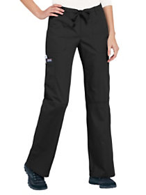 Low Rise Drawstring Cargo Pants